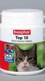 Мультивитамины для кошек, 180таб, , 638 р., Кошки, Beafar, Витамины Беафар