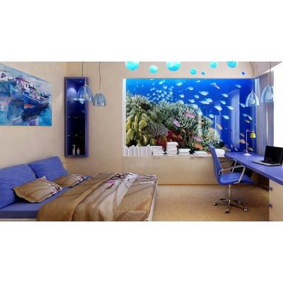 Студия Современного Аквариума выполнит любые заказы на изготовление аквариумов