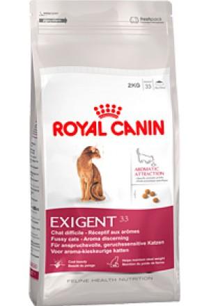 Корм Роял Канин Экзиджент Ароматик для кошек, привередливых к аромату продукта.