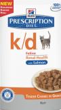 Hills паучи k/d (лосось), , 71 р., Кошки, Хиллс, Хиллс диета