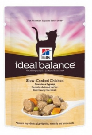 Влажный корм хиллс идеальный баланс для кошек и котов.