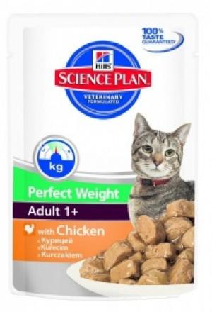 Влажный корм хиллс для кошек и котов с лишним весом