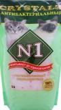 Силикогелевый антибактериальный наполнитель N1 5л, , 417 р., Кошки, , Наполнитель-N1
