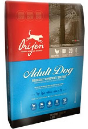 Беззерновой корм Orijen с курицей для взрослых собак всех пород