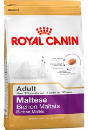 Корм Роял Канин для собак породы мальтийская болонка в возрасте от 10 месяцев.
