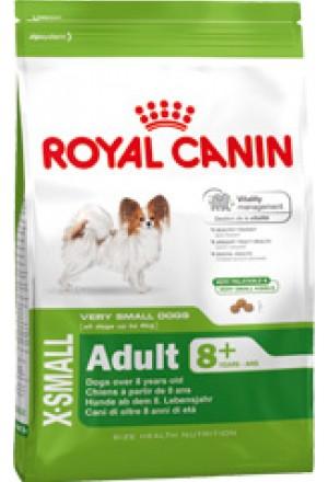 Корм для собак мелких пород старше 8 лет.