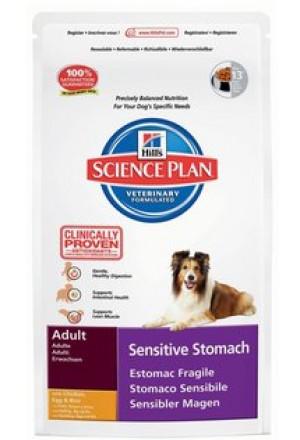 Хиллс Сенситив Стомак для взрослых собак всех пород с чувствительным пищеварением