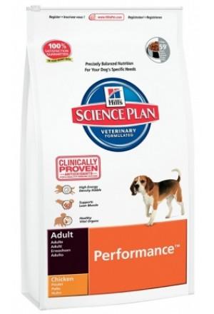 Корм Хиллс Перфоманс для активных собак, для собак на тренировках, аджилити и т.д.