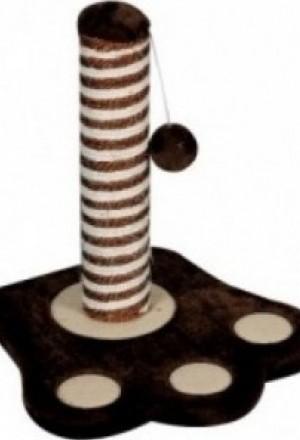 Прочная и долговечная когтеточка, столбик обит сезалиевой веревкой