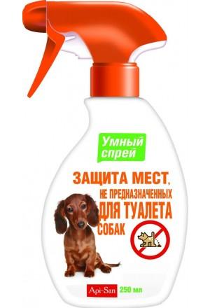 """""""Умный спрей"""" защита мест, не предназначенных для туалета собак"""