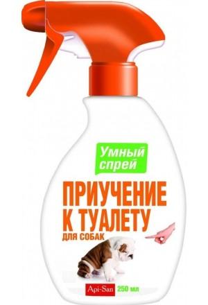 """""""Умный спрей"""" приучение к туалету для собак"""