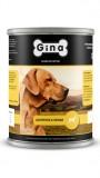 Джина консервы для собак (цыпленок&овощи), , 292 р., Собаки, Gina, Джина