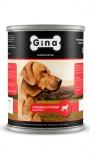 Джина консервы для щенков (говядина&овощи), , 292 р., Собаки, Gina, Джина