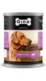 Джина консервы для собак (говядина&печень), , 292 р., Собаки, Gina, Джина