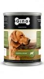Джина консервы для собак (индейка&овощи), , 333 р., Собаки, Gina, Джина