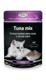 Джина паучи для кошек (тунец в соусе), , 68 р., Кошки, Gina, Джина