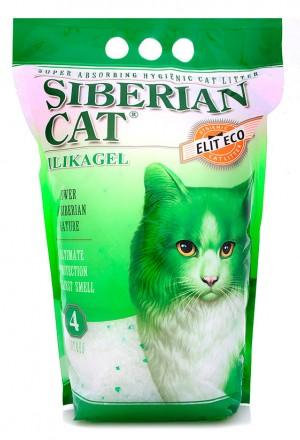 Купить элитный силикагелевый наполнитель Сибирская кошка в Краснодаре