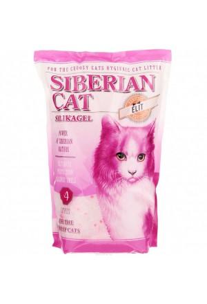 Купить силикагелевый наполнитель сибирская кошка элитный для привередливых кошек