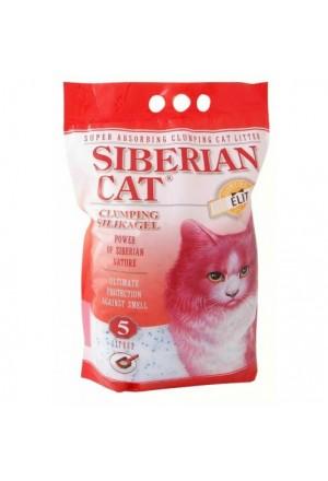 Купить силикагелевый комкующийся наполнитель Сибирская кошка Элита в Краснодаре