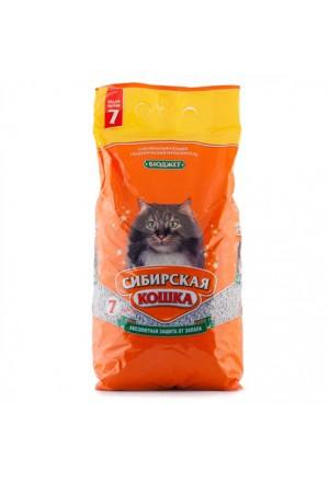 Впитывающий наполнитель Сибирская кошка бюджет купить в Краснодаре