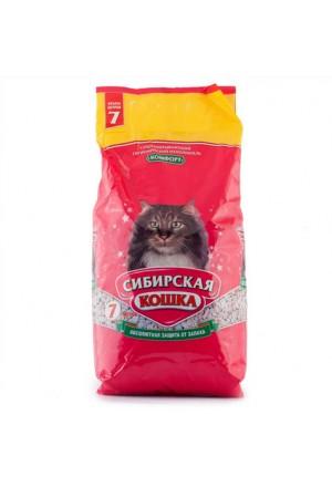 Впитывающий наполнитель Сибирская кошка Комфорт купить в Краснодаре