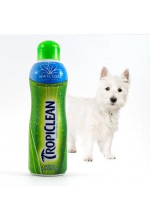 Tropiclean Авапухи, шампунь для собак и кошек с белой шерстью, объем 592 мл.